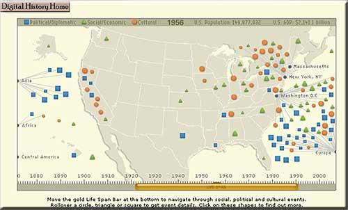 Digital History Interactive Map