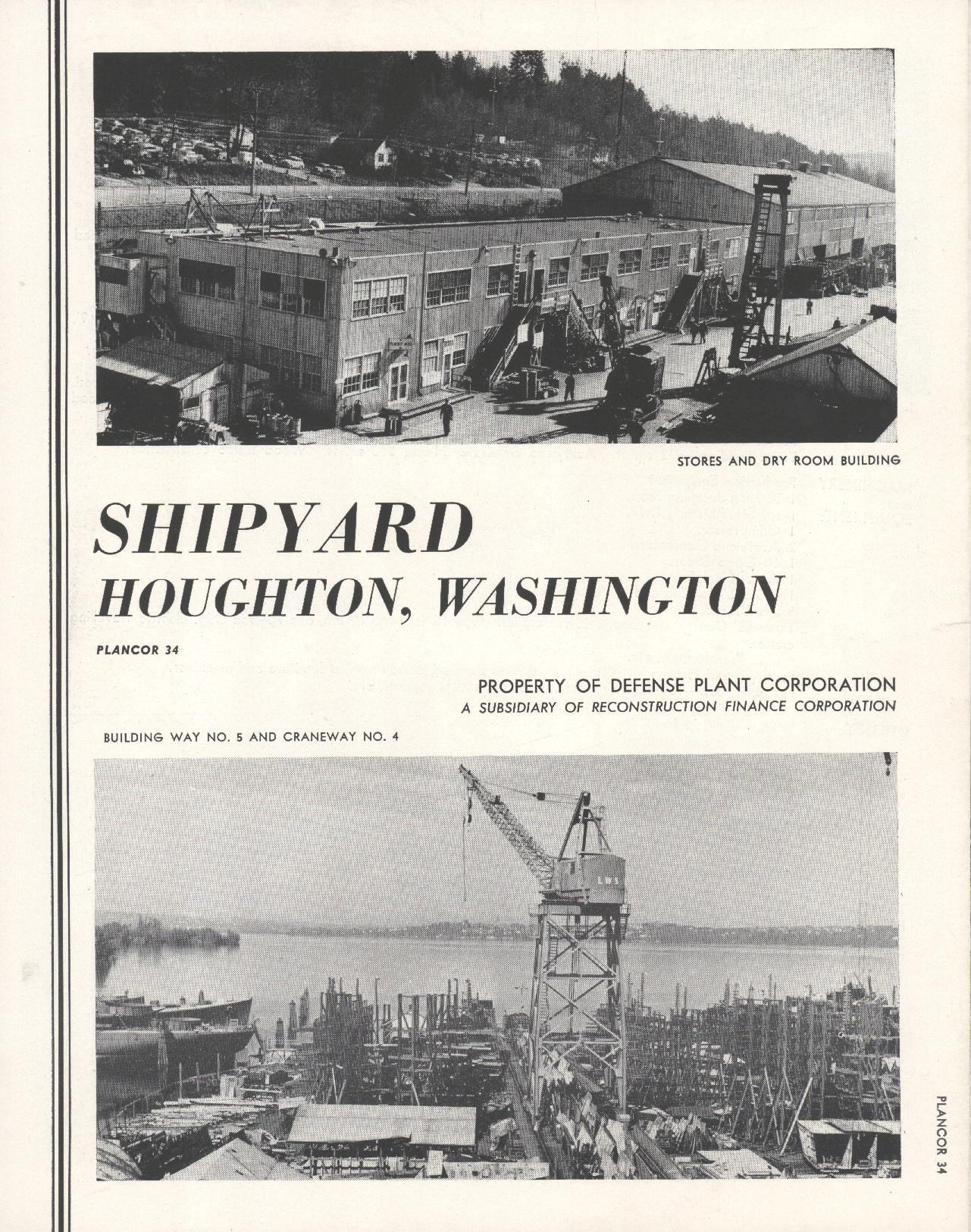 Washington Shipyard Brochure Cover