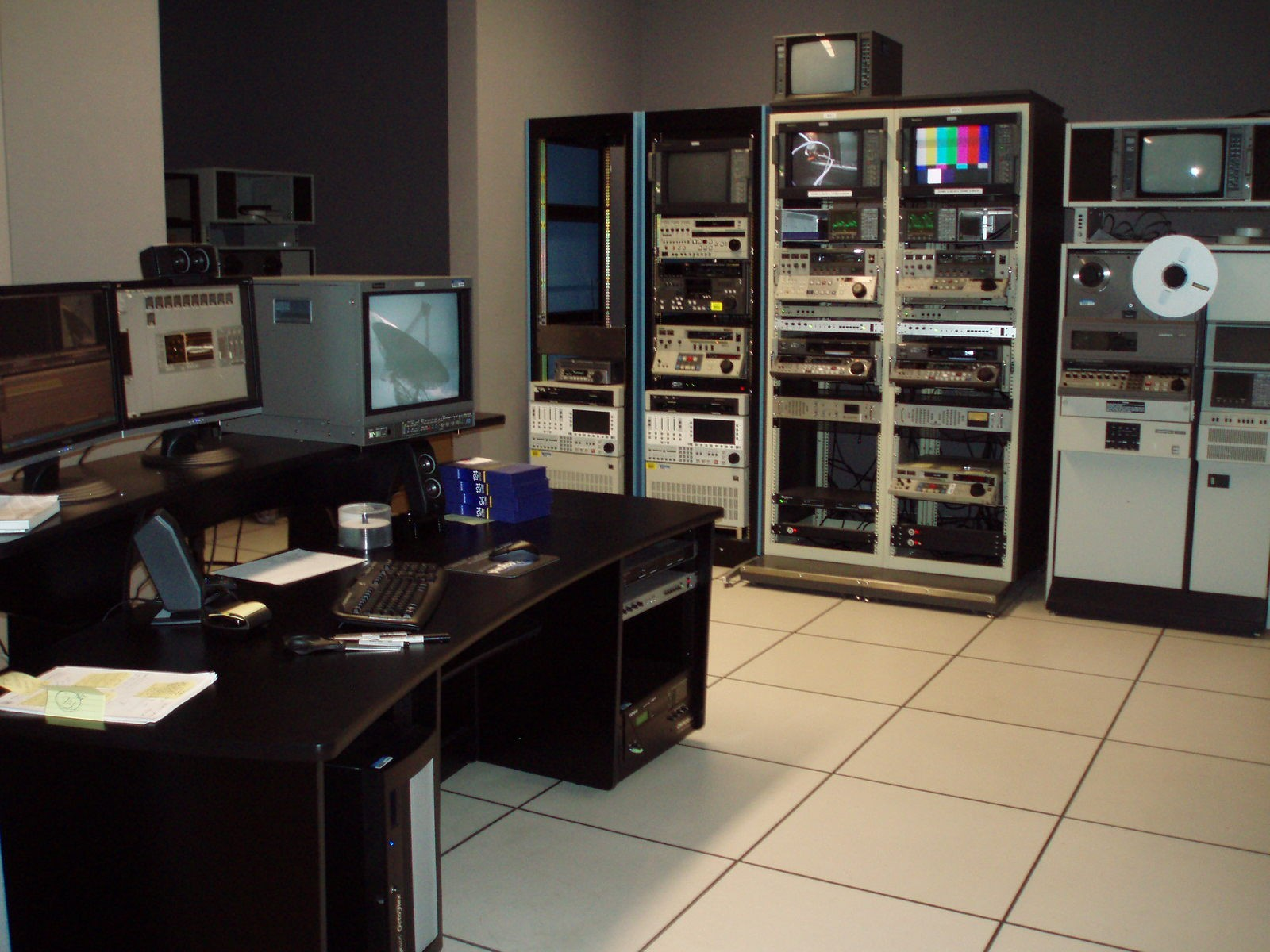 Reformatting equipment in the video lab