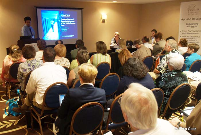 NAGARA Session C-14 Panelist, Dr. Kenton McKenry, NCSA / UnivIllinois, Urbana Champaign