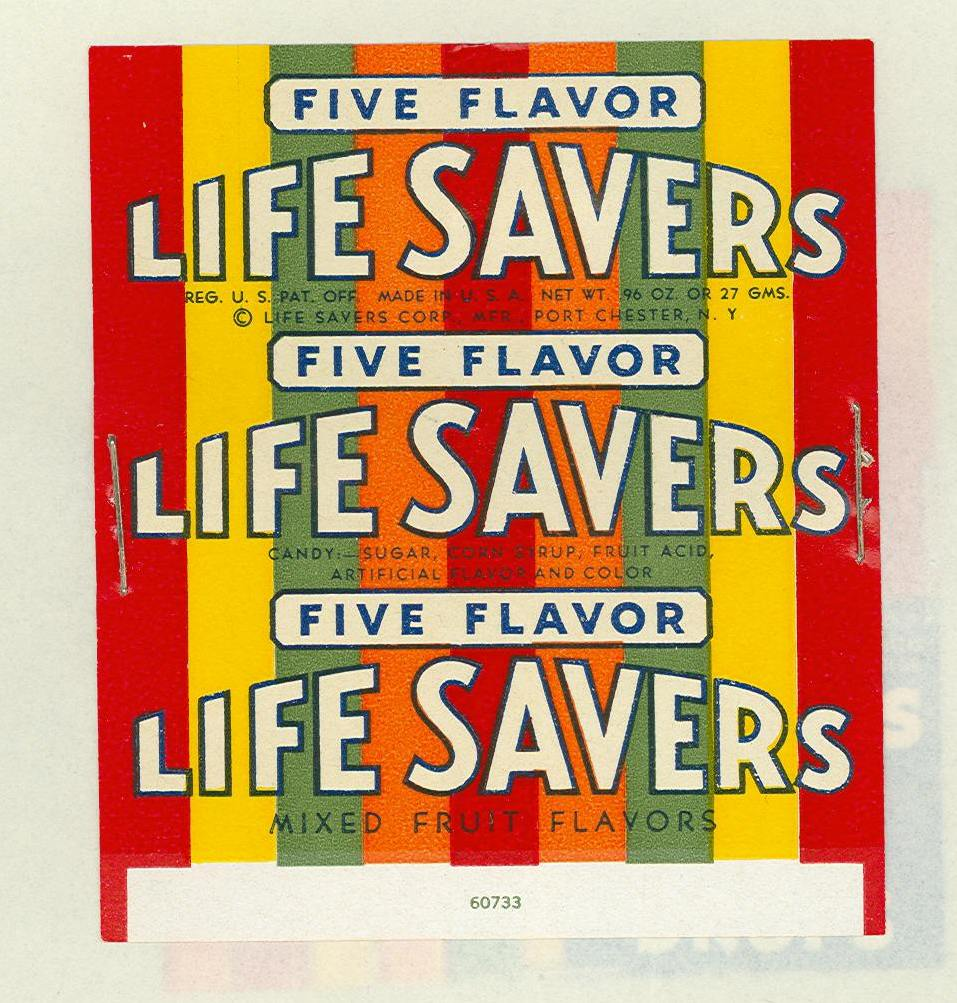 Life Savers package 1947