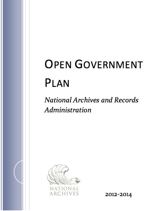 NARA Open Gov Plan #2
