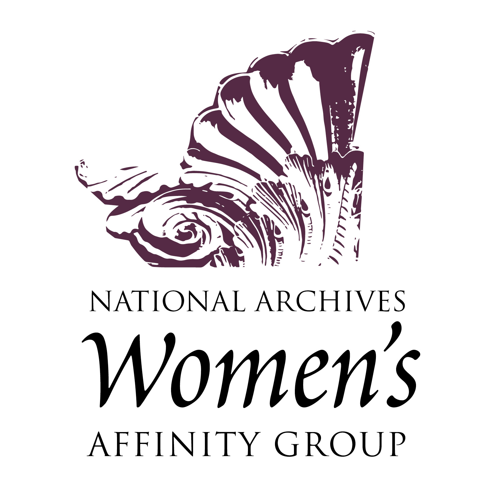 National Archives Women's Affinity Group logo