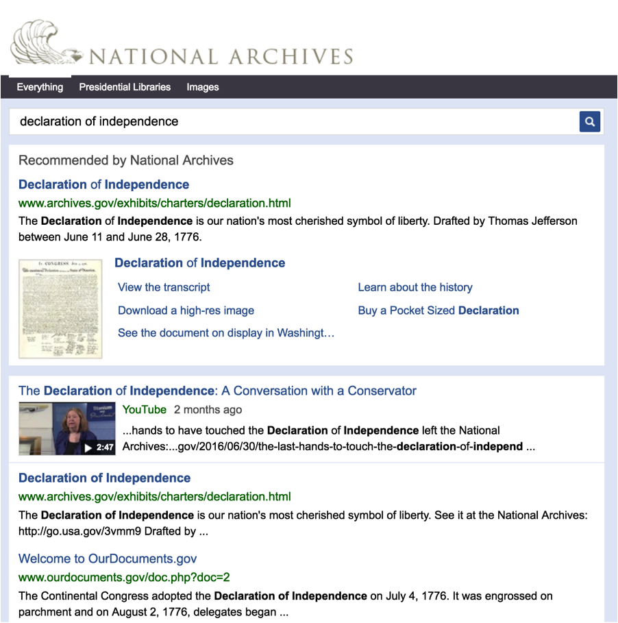 """Search results for """"declaration of independence"""